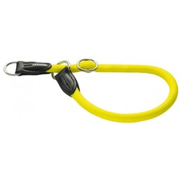 Ошейники  - Hunter Ошейник-удавка Freestyle Neon 60/10 Желтый, 0