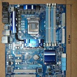 Прочие комплектующие - Мать Gigabyte GA-P55-UD4 (LGA 1156) ,проц.Core…, 0