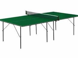 Столы - Теннисный стол Start Line Hobby-2 green, 0
