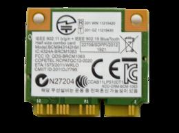 Оборудование Wi-Fi и Bluetooth - Wi-Fi + Bluetooth модуль Asus X551, X551M…, 0