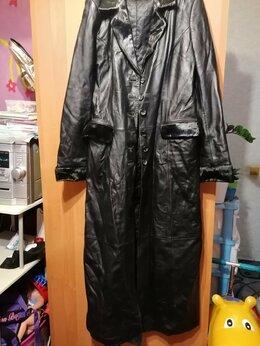 Пальто - Коженое пальто , 0