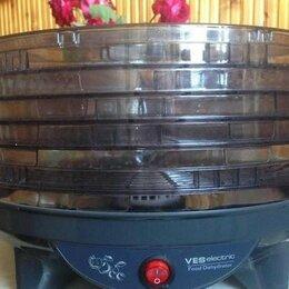 Сушилки для овощей, фруктов, грибов - Сушилка овощная грибная рыбная Ves VMD 4 электрическая овощесушилка, 0
