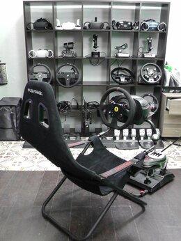 Рули, джойстики, геймпады - Thrustmaster T300 + кпп и Кресло PlaySeat PS5/4 PC, 0