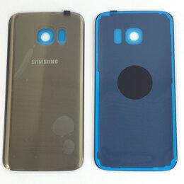 Корпусные детали - Задняя крышка для Samsung Galaxy S7 (G930) золотая, 0