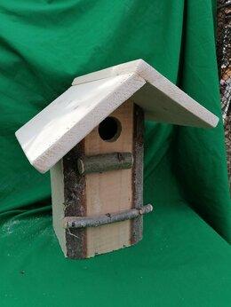 Клетки и домики - Скворечник для птиц., 0