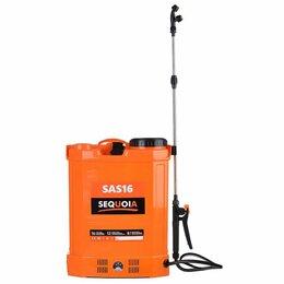 Электрические и бензиновые опрыскиватели - Опрыскиватель SEQUOIA SAS 16 аккумуляторный, 0