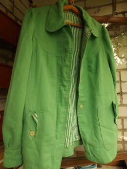 Куртки - Куртка салатовая , 0