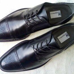 Ботинки - Moreschi (45 размер) Италия, Новые полуботинки, 0