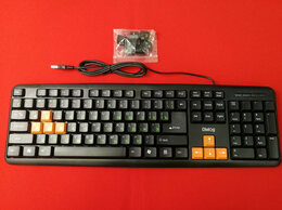 Клавиатуры - Клавиатура Dialog KS-020U Standart - USB, черная…, 0