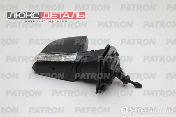 PATRON PMG1152M02 Зеркало наружное прав, мех, выпукл,одно стекло, чрн корп, с... по цене 3792₽ - Кузовные запчасти , фото 0