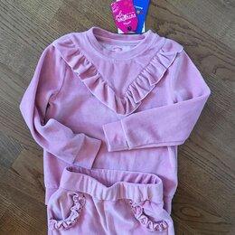 Комплекты и форма - Комплект (джемпер и брюки) для девочки, р. 104, 0