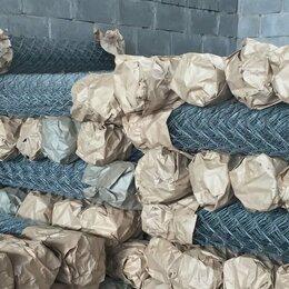 Заборчики, сетки и бордюрные ленты - Сетка рабица оцинкованная Россошь, 0