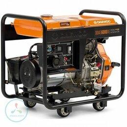 Электрогенераторы - Дизельный генератор Daewoo DDAE 6000XE, 0