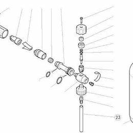 Принадлежности и запчасти для станков - Трубка подачи химии для LS3, 0