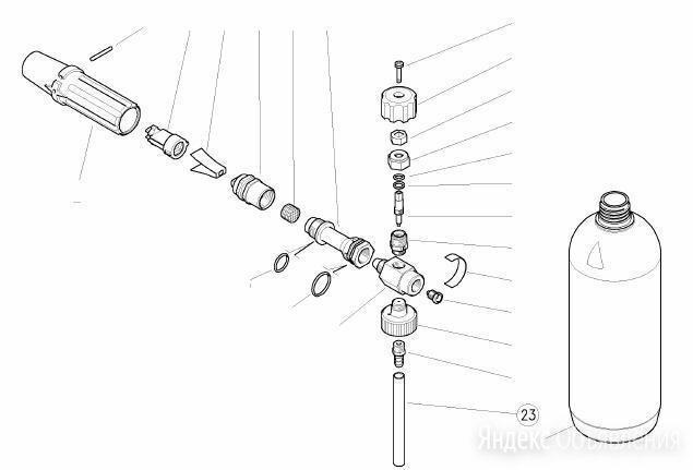 Трубка подачи химии для LS3 по цене 200₽ - Прочие станки, фото 0
