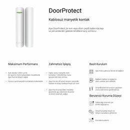 Системы Умный дом - Ajax DoorProtect.Беспроводной датчик открытия, 0