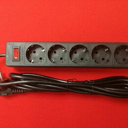 Источники бесперебойного питания, сетевые фильтры - Сетевой фильтр Defender ES 3 розеток 10А 2200W черный 3 м, 0