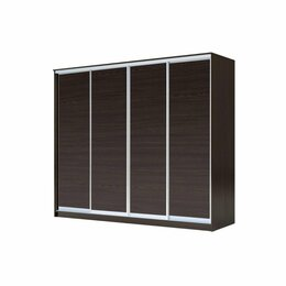 Шкафы, стенки, гарнитуры - Четырехдверный Шкаф-Купе ХИТ 1111 (Венге), 0