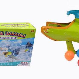 Игрушечное оружие и бластеры - Бластер для снежков из серии Веселые забавы 2 в 1, 2 цвета, Abtoys, PT-00865, 0