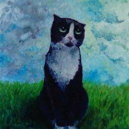 Картины, постеры, гобелены, панно - Картина Кошка, 0