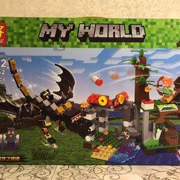 Конструкторы - Конструктор Черный Дракон My World 33162, 0