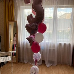 Воздушные шары - Шарики с гелием , 0