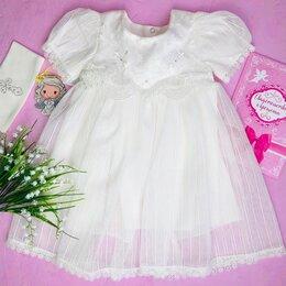 Платья и юбки - Нарядное/крестильное платье для малышки, 0