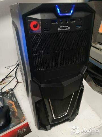 Компьютер для игры в GTA 5, WoT, Crossout, CS-GO по цене 7500₽ - Настольные компьютеры, фото 0