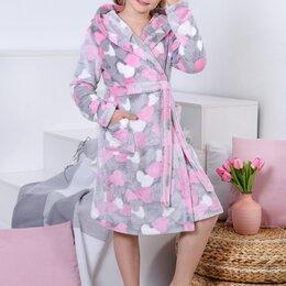 Домашняя одежда - Халат для девочки Симпатия-1, 0