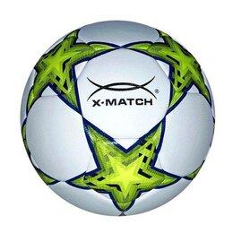 Мячи - Мяч футбольный X-Match, ламинированный, PU+EVA, машинная обработка 56421, 0