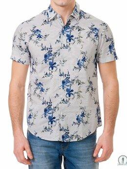 Рубашки - Модные мужские рубашки W1062 STORM, 0