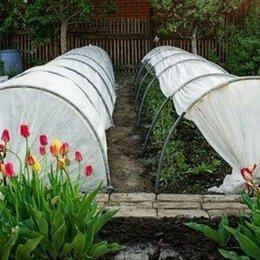 Парники и дуги - Большой парник Богатый Урожай длина 6 метров с укрывным материалом, 0