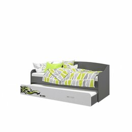 Кровати - Кровать-Софа Выдвижная Граффити, 0