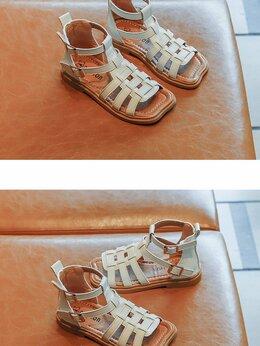 Босоножки, сандалии - Сандалии гладиаторы для девочек , 0