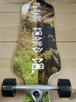 Скейтборды и лонгборды - Лонгборд plank inka 39x9, 0