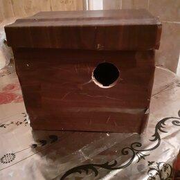 Клетки и домики - Домик-гнездо для волнистых попугаев, 0
