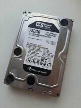 """Внутренние жесткие диски - Жесткий диск WD 750 Gb (""""3.5 Caviar Black), 0"""