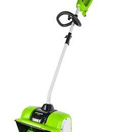 Снегоуборщики - Снегоуборщик аккумуляторный Greenworks GD40SS бесщеточный (без АКБ и ЗУ), 0
