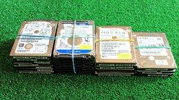 Внутренние жесткие диски - Лот HDD жестких дисков 2,5 дюйма 21 штука, 0