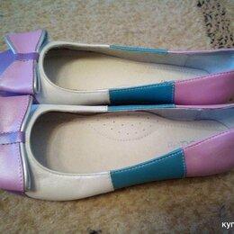 Балетки, туфли - Туфли для девочки 34 размер, 0