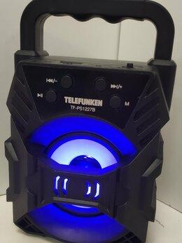 Портативная акустика - Колонка портативная telefunken, 0