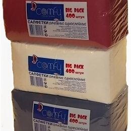 Бумажные салфетки, носовые платки - COMFY Салфетка COMFY BIG PACK 24х24, 400 листов, 0