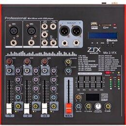 Микшерные пульты - ZTX audio Mix 2.1.Fx микшерный пульт 2mono,…, 0