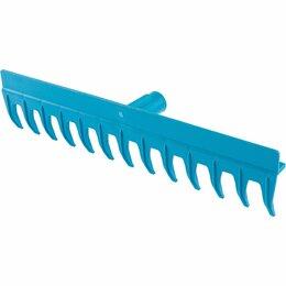 Аксессуары - Грабли 13 прямых зубьев, пластиковые, 430 мм, усиленные, без черенка, Luxe, Pali, 0
