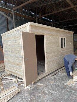 Готовые строения - Бытовка 5х2.30 вагончик деревянный А-436, 0
