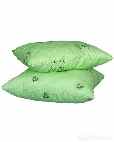 Подушка Бамбук 50х70 п/э (пакет) по цене 573₽ - Подушки, фото 0