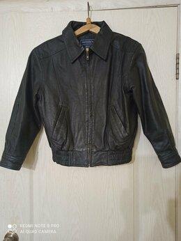 Куртки и пуховики - Кожаная куртка, 0