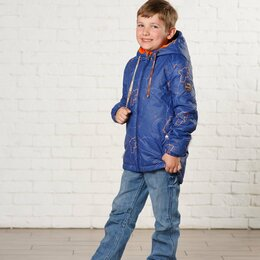 Куртки и пуховики - Демисезонная куртка для мальчиков (р-ры 122 - 164), 0