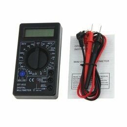 Измерительные инструменты и приборы - Мультиметр тестер амперметр DT-832 (DT830D), 0