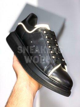 Кроссовки и кеды - Alexander McQueen черные рефлектив, 0